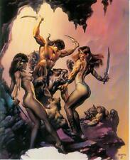 Boris Vallejo postercard: against the odds (estados unidos, 1992)