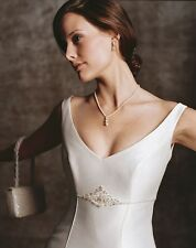 Casablanca Original Opulence Wedding Dress Style 1655 Ivory Size 8