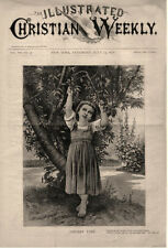 Cherry Time  -   Poem = The Wild Cherry Tree by Barry Cornwall   -  1878