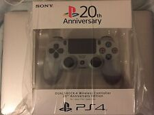PlayStation 4 Dualshock 4 Controller 20th Anniversary Limited Edition PS4 New