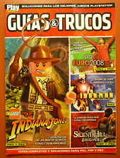 Guías Lego Indiana Jones, Silent Hill Origins, Iron Man, PSP PS2 PS3 Wii 360 PC