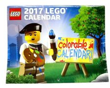 Lego 2017 Promotional Colorable Wall Calendar NEW & Sealed Item 5005260
