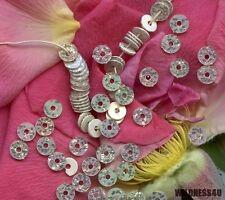 Antique French Couture Sequins Confetti Glitter Modernist Vintage Paillettes 3mm