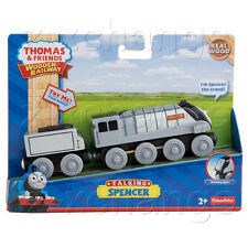 USA TALKING & LIGHT SPENCER Thomas Wooden train NEW IN BOX