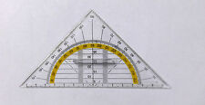 Geometry Set Square Drawing Drafting Triangle Ruler With Grip