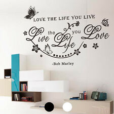 Removable Wall Sticker Butterfly Flower Vine 3D NEW Decal Mural Vinyl Room Decor