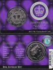 2012 RAM, Diamond Jubilee Uncirculated $0.50 cent coin pack