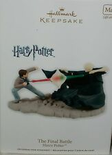 Hallmark Holiday Xmas Tree Ornament Harry Potter Daniel Radcliffe Lord Voldemort