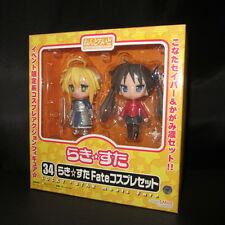 Nendoroid 34 Konata and Kagami Fate cosplay figure set anime Lucky Star