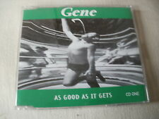 GENE - AS GOOD AS IT GETS - UK CD SINGLE - PART 1