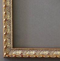 Bilderrahmen Rahmen Holz Antik Barock Vintage Brescia Gold 20,0 - Top Qualität