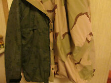 GORE-TEX REVERSIBLE JACKET DCU/Night Grid Desert Camo med-long SOCOM US OCP SEAL