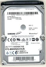 "Hard Disk SATA 2,5"" Samsung 500gb 5400rpm Buffer 8mb HDD 2.5 LAPTOP NETBOOK NEW"