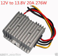 NEW Voltage Booster Power DC Converter Step Up Regulator 12V to 13.8V 20A 276W