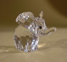 SWAROVSKI CRYSTAL ELEPHANT SMALL / MINI 151489 MINT BOXED RETIRED RARE