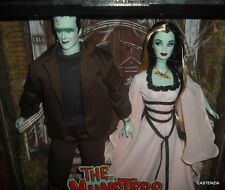 HTF RARE MATTEL BARBIE & KEN The Munsters Gift Set  2001 Collector Edition NRFB
