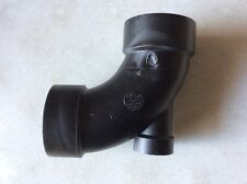 MUELLER 03025 -3X3X1.5 -Drain, Waste & Vent Pipe Fittings 90 Elbow w/Low Heel In