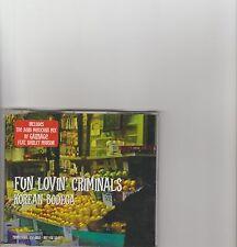 FUN LOVIN' CRIMINALS-Korean Bodega UK Promo cd single