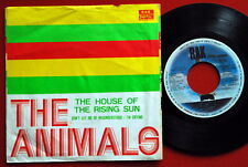 """ANIMALS HOUSE OF THE RISING SUN 1972 UNIQUE COVER EXYUGO 7""""PS"""