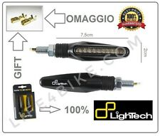 FRECCE LED LIGHTECH FRE906NER OMOLOGATE HORNET MONSTER FZ6 R1 R6 BETA DERBI KTM