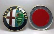 ALFA ROMEO Emblem 2PCS Badge Sticker Mito Giulietta Spider GT 147 156 159 166