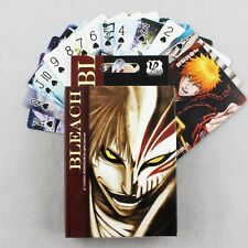 54pcs Anime BLEACH Paper Poker Cards Gaming Playing Cards Characters Gift In Box
