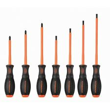 7-pc. Insulated Electrician's Screwdriver Set High-visibility Electrical, POWER