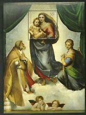 Germania 2012 Emissione congiunta con Vaticano Foglietto Madonna Raffaello MNH**