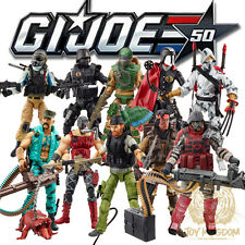 "Hasbro GI Joe 50th Anniversary Exclusive 3.75"" Figure 2-Packs Set of 5 IN STOCK"