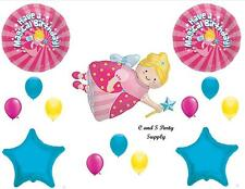MAGICAL FAIRY GODMOTHER BIRTHDAY BALLOONS Decorations Supplies Girl Princess