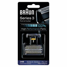 [Braun]31B 5000/6000 Series 3 Flex XP Integral Shaver Foil + Cutter Replacement