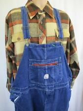 W48 - Vintage 70's Pointer Mens Dungarees Bib Brace Overalls USA Workwear - L481
