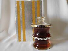 Vintage GUERLAIN SOUS LE VENT 2.7 OZ BACCARAT Perfume, 1937 Ltd Ed. 1 of 5000
