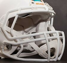 MIAMI DOLPHINS Riddell Speed S2BD Football Helmet Facemask/Faceguard (WHITE)