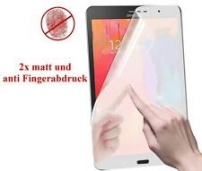 2x HD f Samsung Galaxy Tab pro 8.4 Display Schutz Folie matt Anti Fingerabdruck