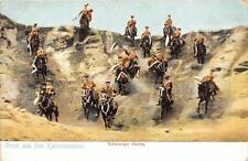 CPA GUERRE 1914-1918 ARMEE ALLEMANDE GRUSS AUS DEM KAISERMANOVER SCHWIERIGER ABS