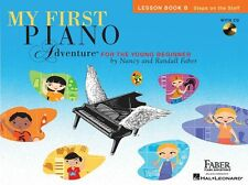 My First Piano Adventure Learn to Play BEGINNER EASY LESSON MUSIC BOOK & CD