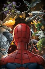 SPIDER-MAN - VILLAINS COLLAGE POSTER 22x34 - MARVEL COMICS 15403