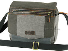 Troop London Medium Urban Collection Messenger / Shoulder Bag - TRP0387 Grey