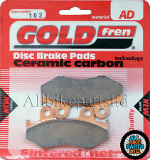 Honda FTR 250 Front Sintered Brake Pads 1986 Onwards - Goldfren - FTR250 FTR-250