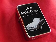 1960 MGA Coupe Engraved / Impact Printed Fuel STAR Lighter With Gift Box