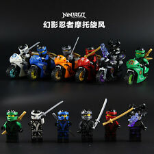 New Ninjago minifigures building block toy ninja with motor cool gift 10017-22