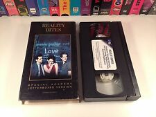 Reality Bites Promo Award Screener VHS 1994 Special Academy Letterboxed Version