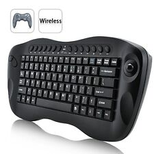COMPUTER REMOTE CONTROL – MINI WIRELESS KEYBOARD WITH TRACKBALL Claviers, pavés