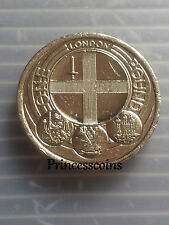 2010*LONDON CAPITAL CITY £ 1 ONE POUND COIN