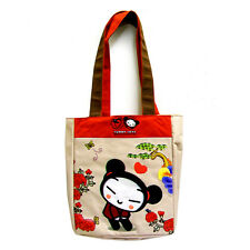 PUCCA Funny Love - Red & Beige Tote Shopper Bag / Handbag - Kawaii Cute - NEW