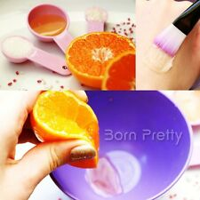 4 in 1 DIY Facial Face Mask Mixing Bowl Brush Spatulas Spoon Set Random Color