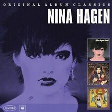 NINA HAGEN - ORIGINAL ALBUM CLASSICS 3 CD NEU