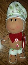 Christmas Gingerbread Man Peppermint Candy Chef Crafty Decoration Decor