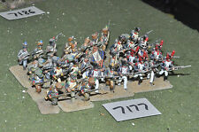 25mm napoleonic french infantry 36 figures (7177) painted metal
